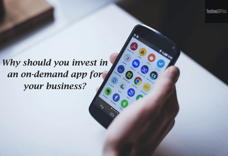 on-demand Mobile app for your business